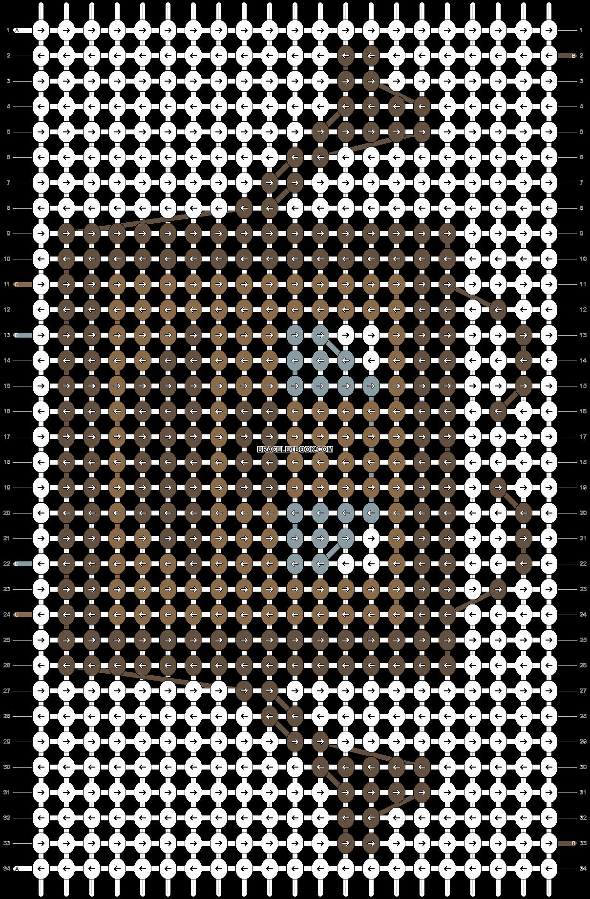 Alpha pattern #19389 pattern
