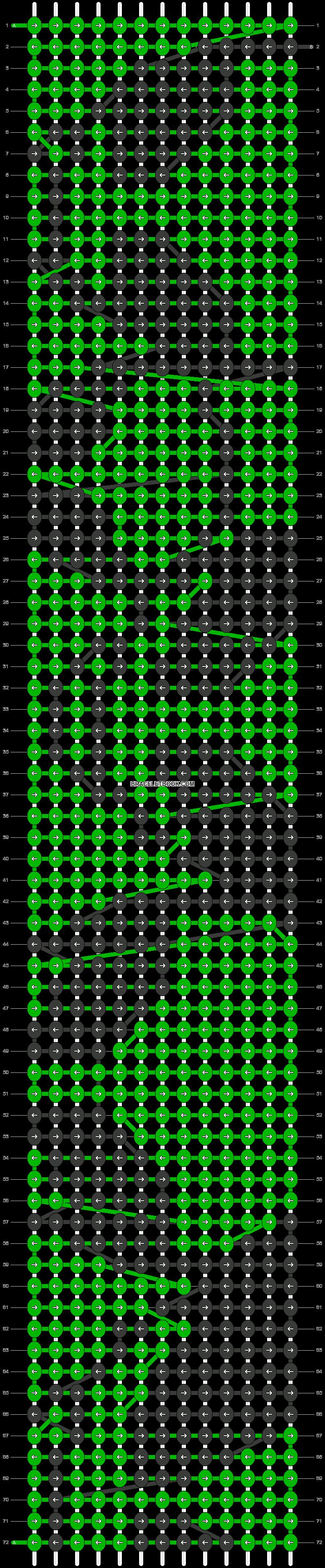 Alpha pattern #19401 pattern