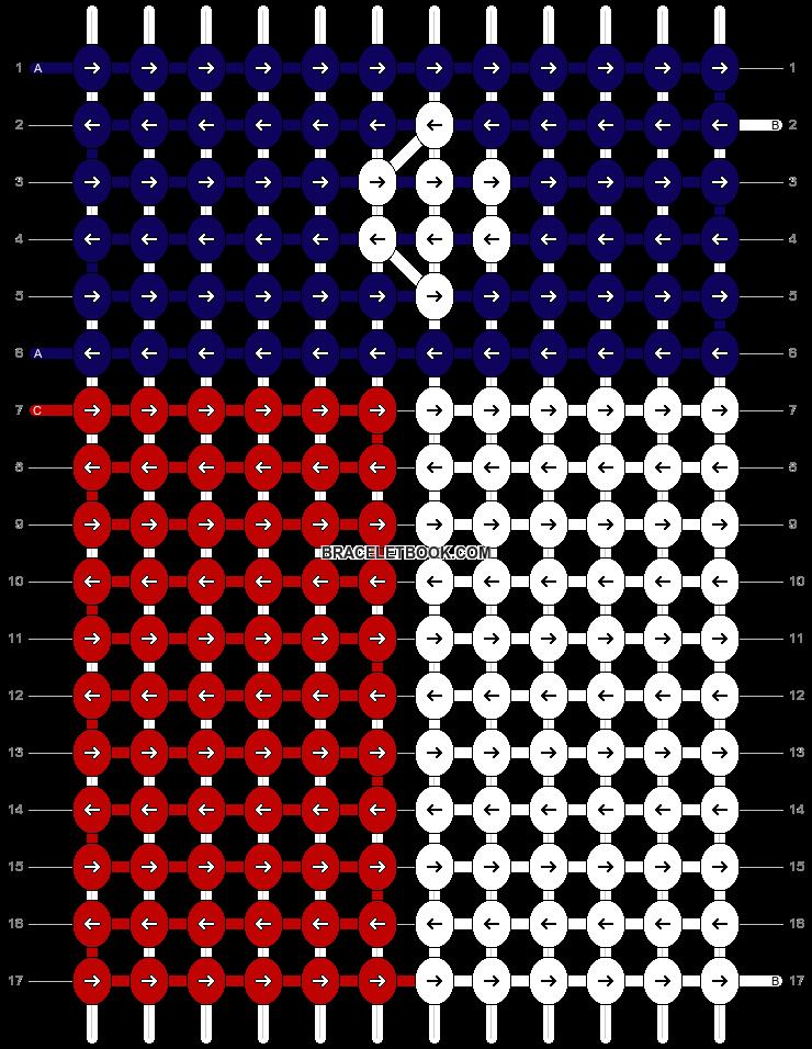 Alpha pattern #19409 pattern