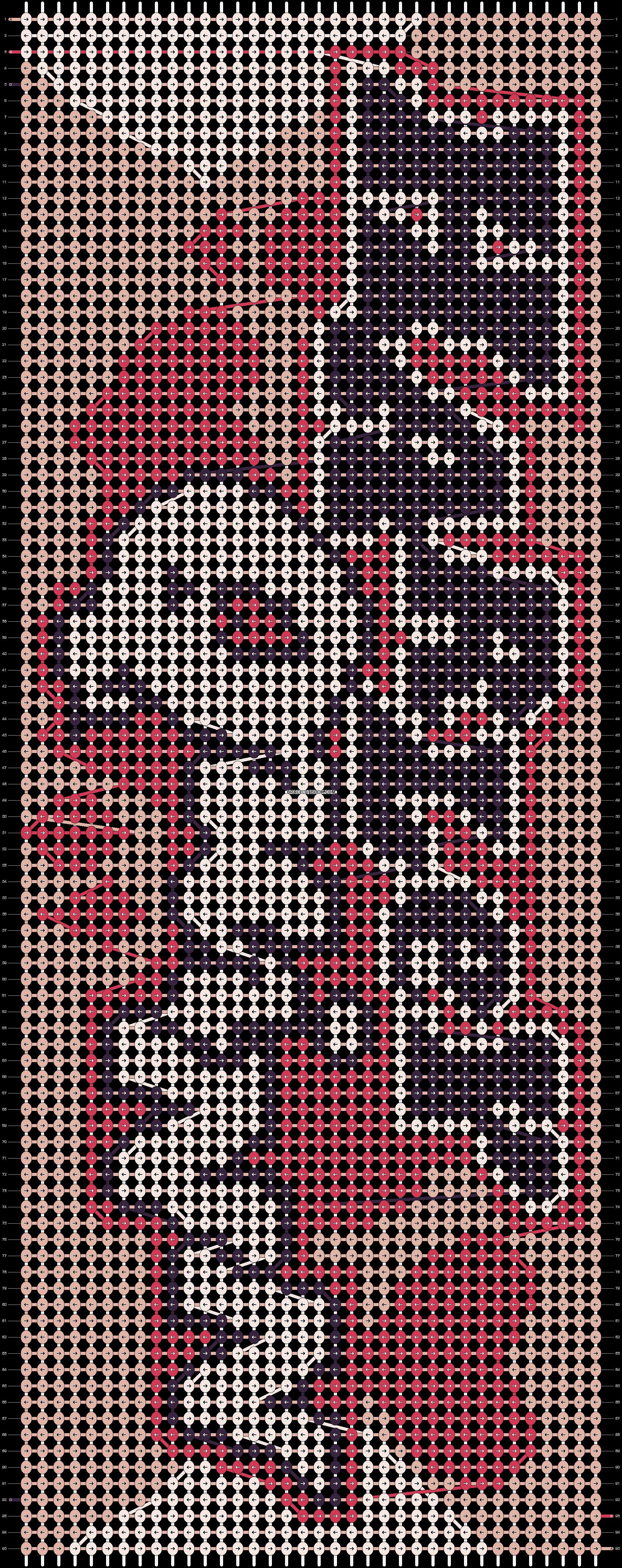 Alpha pattern #19410 pattern