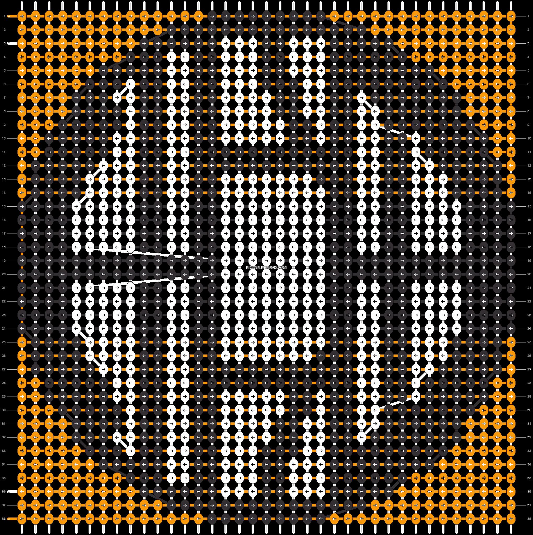Alpha pattern #19429 pattern