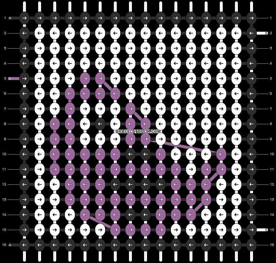 Alpha pattern #19434 pattern