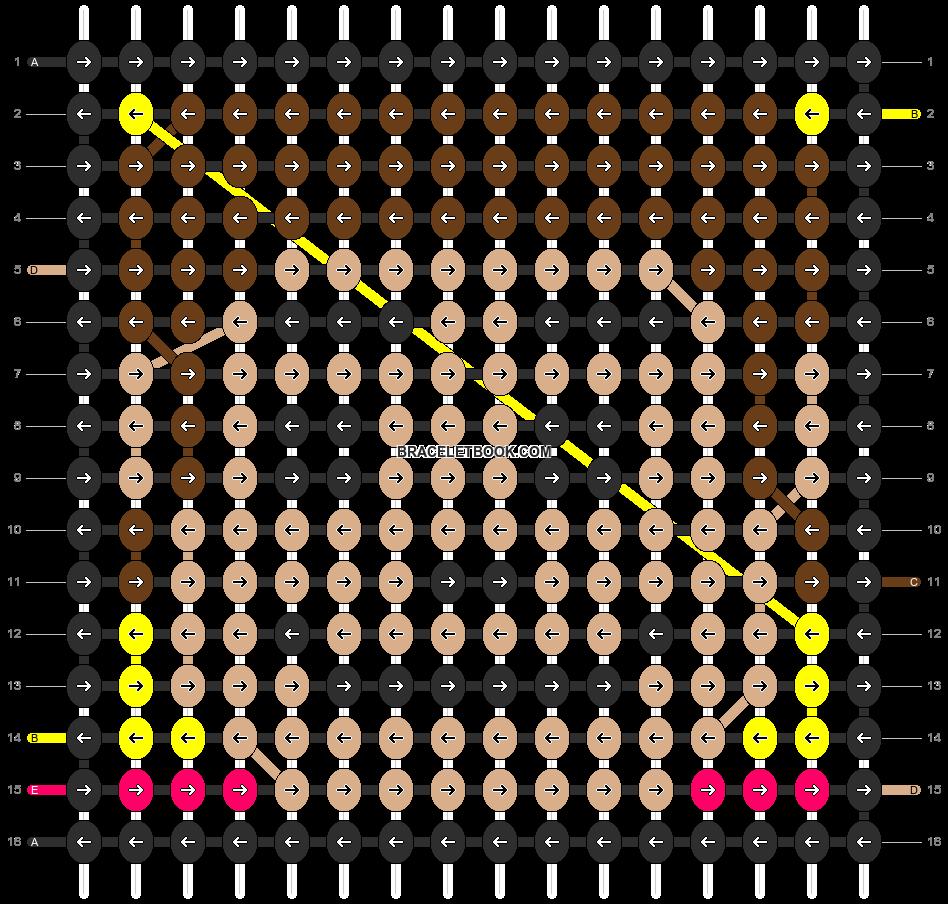 Alpha pattern #19435 pattern