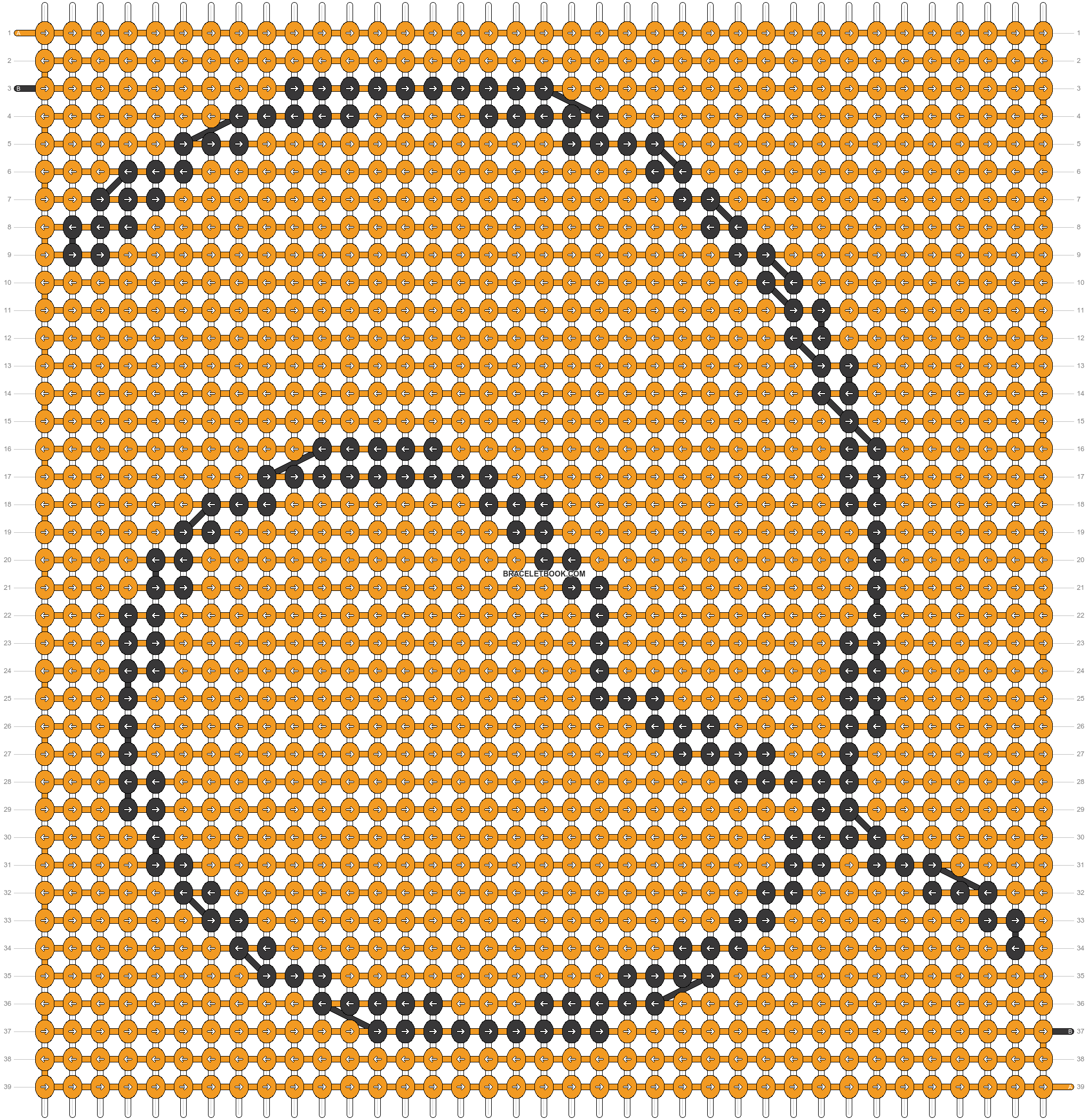 Alpha pattern #19437 pattern