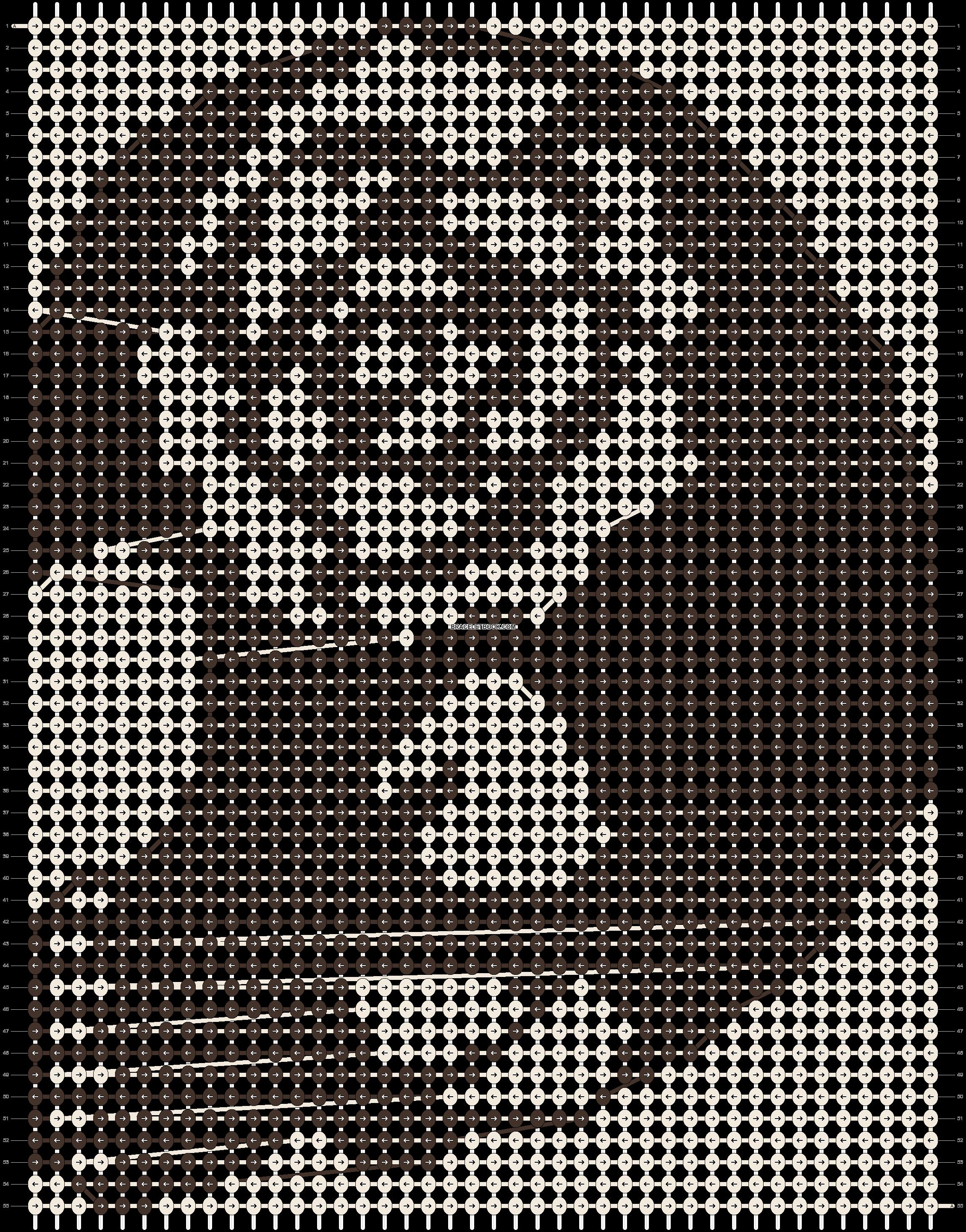Alpha pattern #19445 pattern