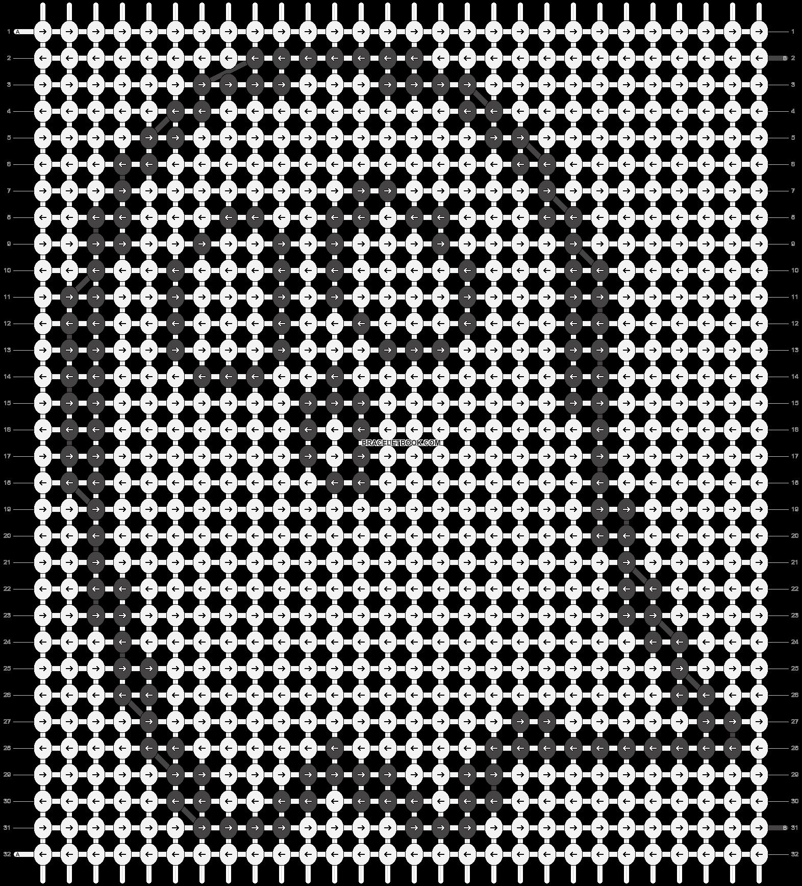 Alpha pattern #19446 pattern