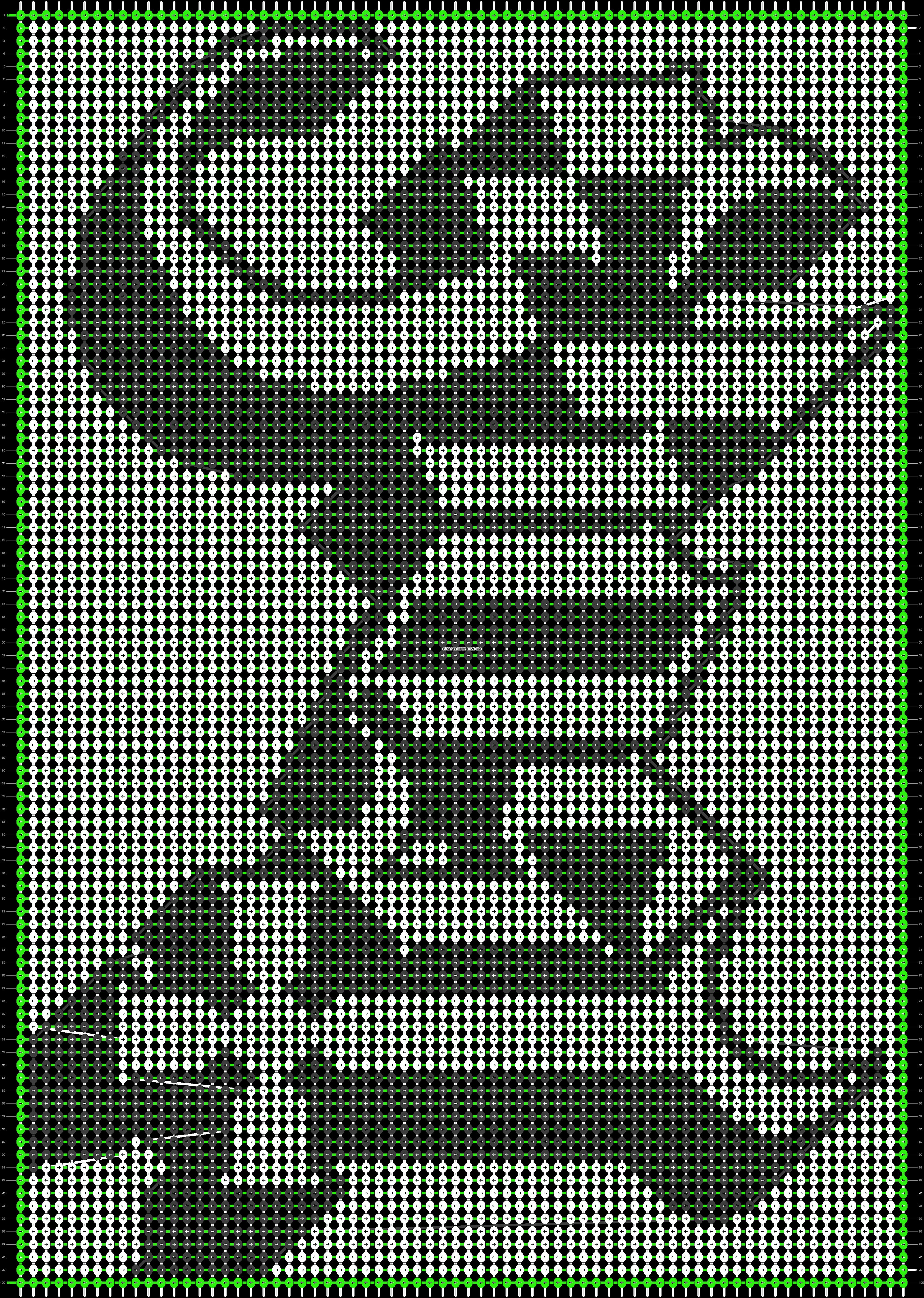 Alpha pattern #19461 pattern
