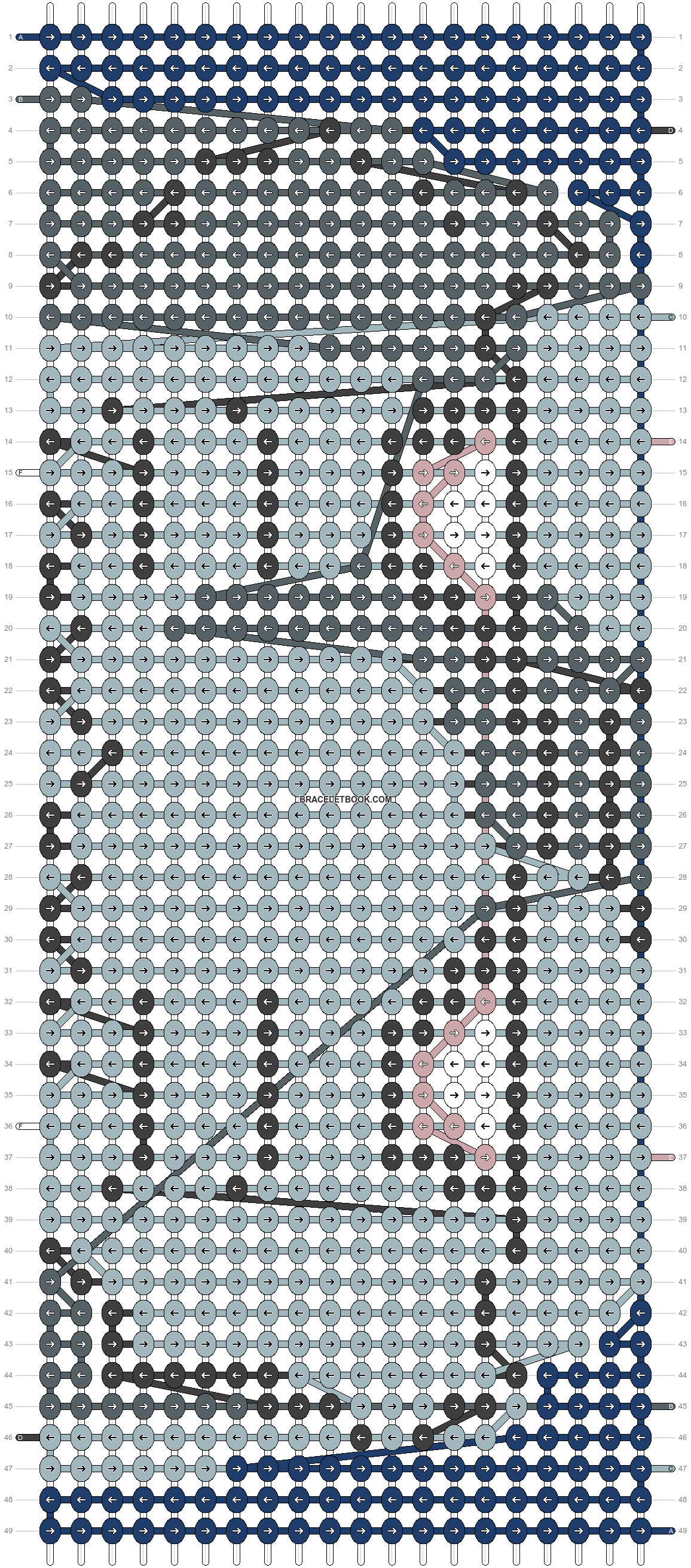 Alpha pattern #19462 pattern