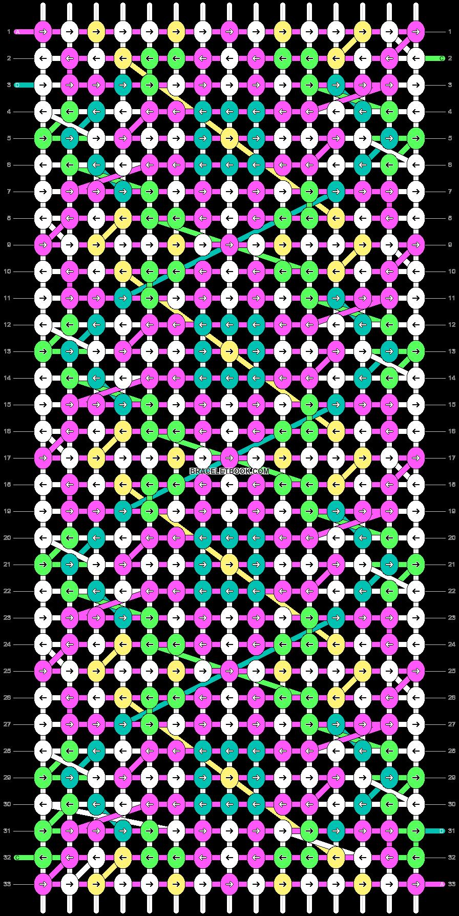 Alpha pattern #19463 pattern