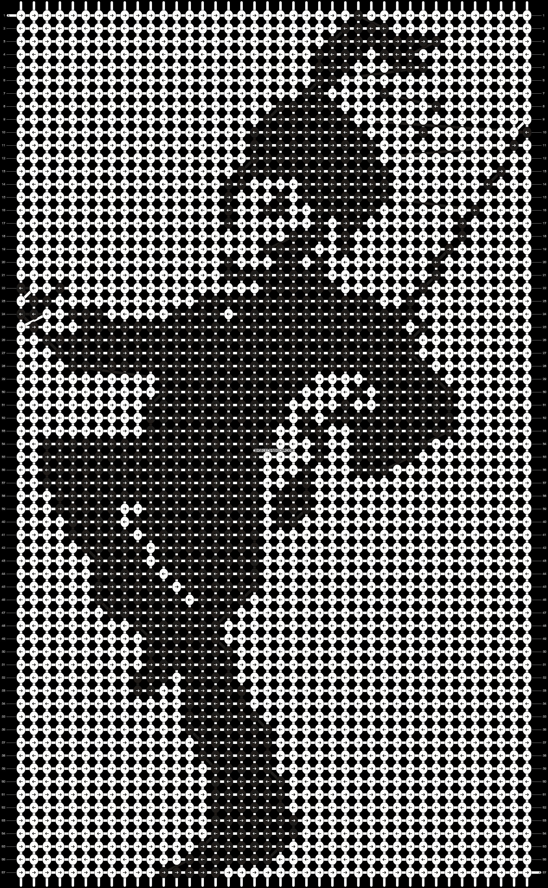 Alpha pattern #19464 pattern