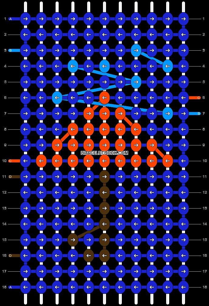 Alpha pattern #19466 pattern