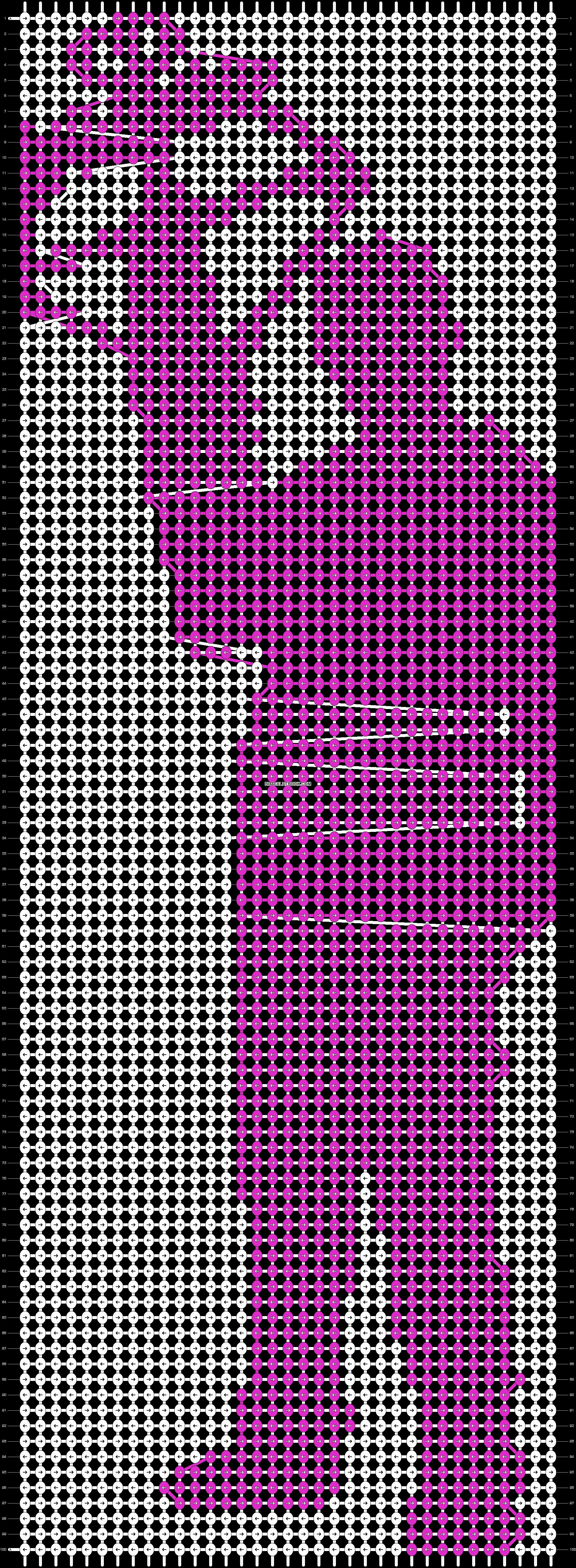 Alpha pattern #19468 pattern