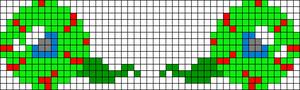 Alpha pattern #19490