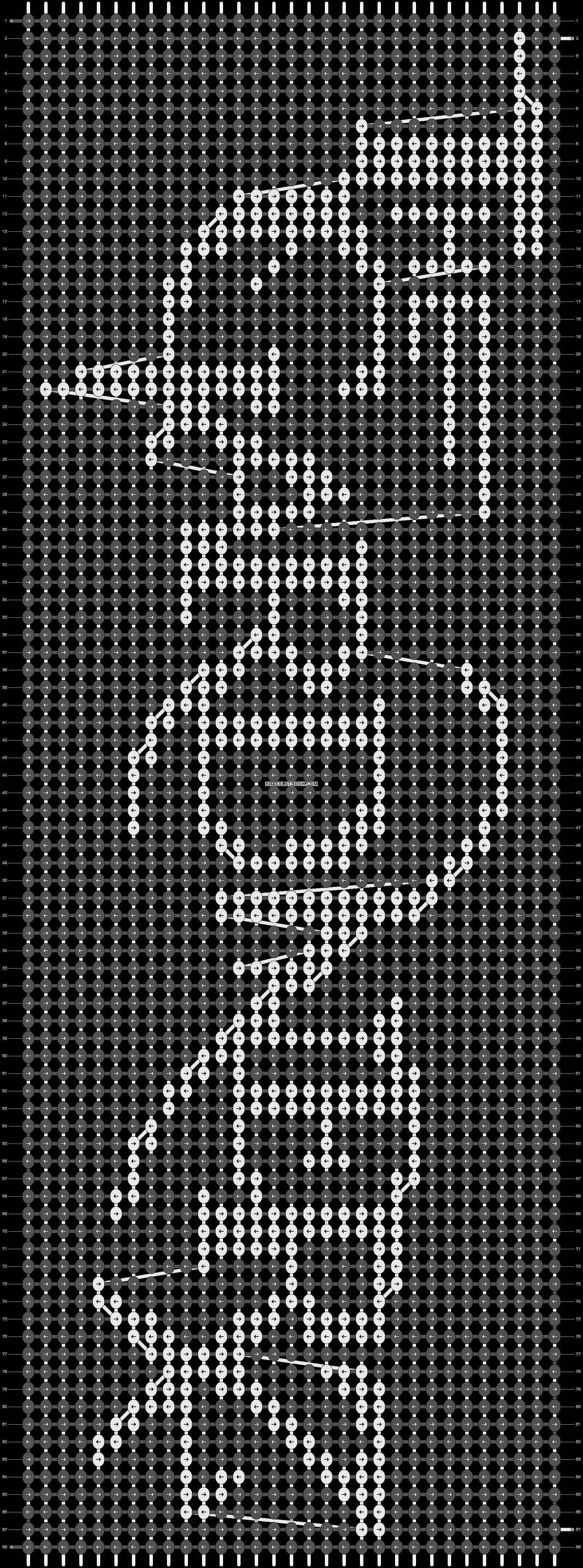 Alpha pattern #19491 pattern