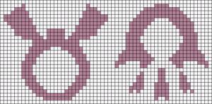 Alpha pattern #19495