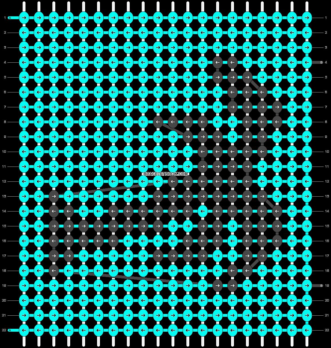Alpha pattern #19496 pattern
