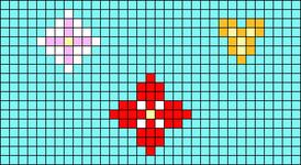 Alpha pattern #19503
