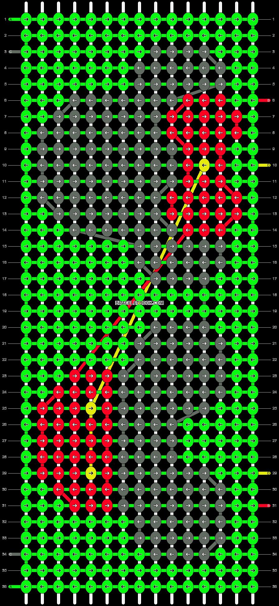 Alpha pattern #19504 pattern