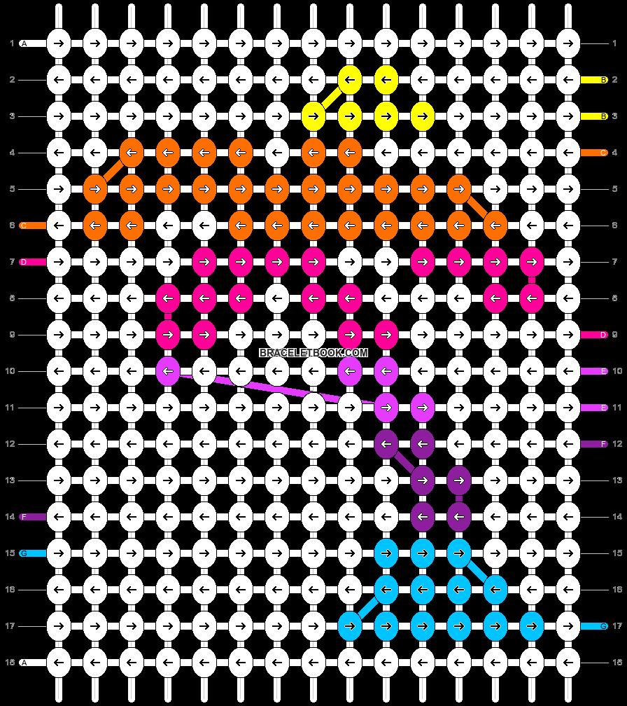 Alpha pattern #19507 pattern