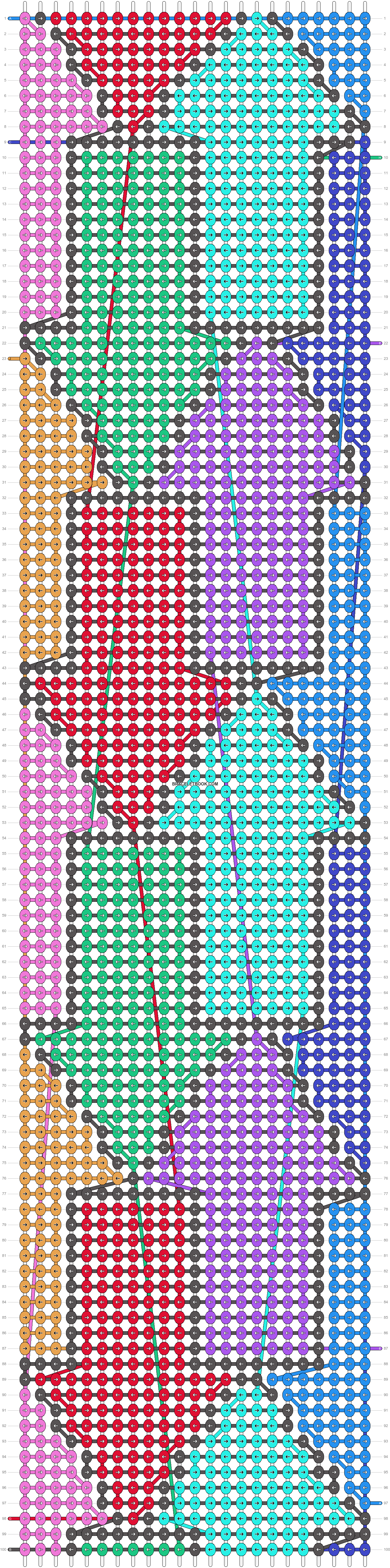 Alpha pattern #19518 pattern