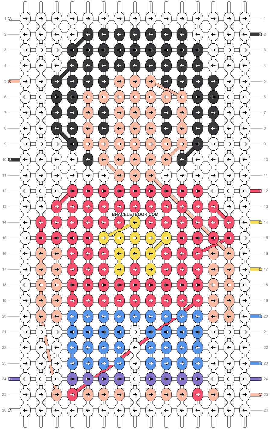 Alpha pattern #19520 pattern