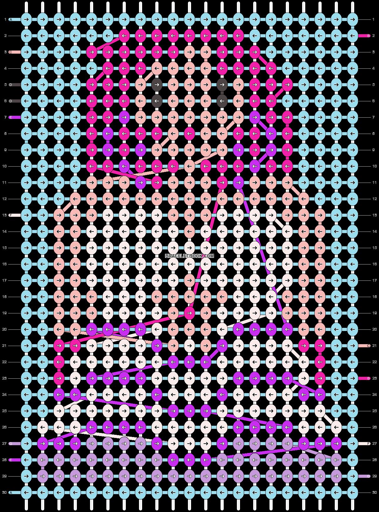 Alpha pattern #19521 pattern