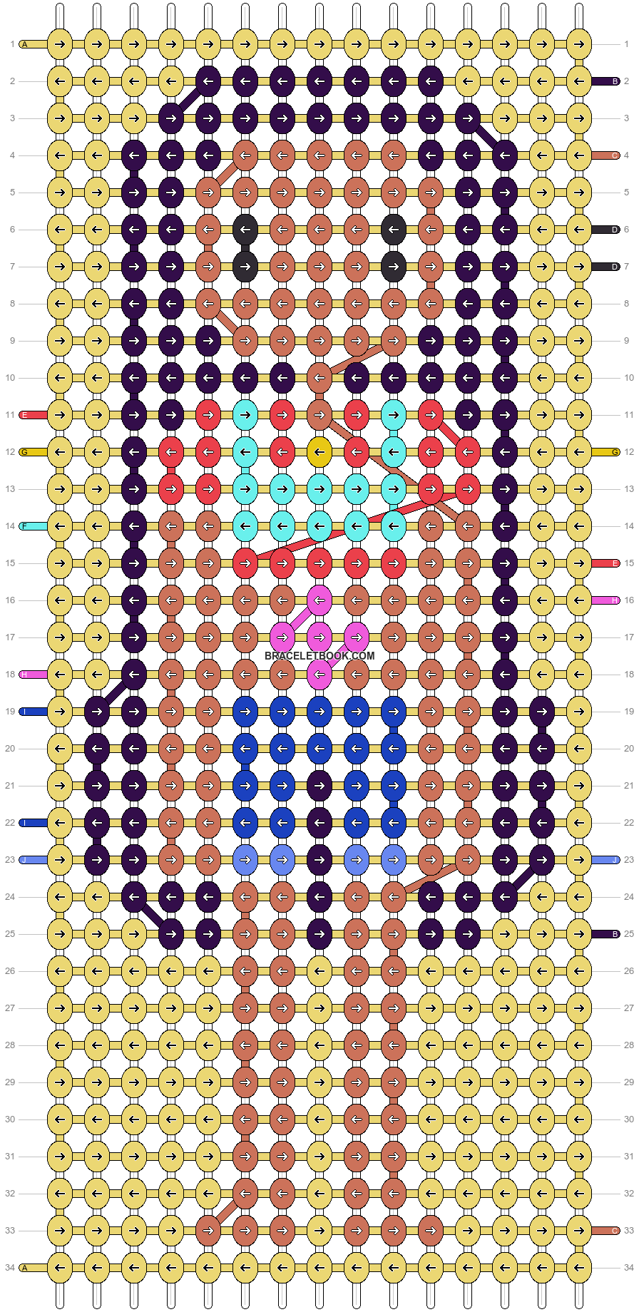 Alpha pattern #19528 pattern