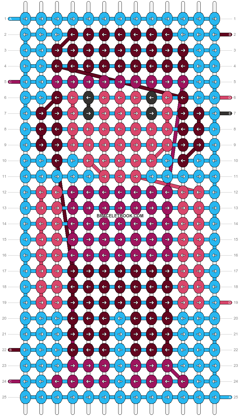 Alpha pattern #19529 pattern