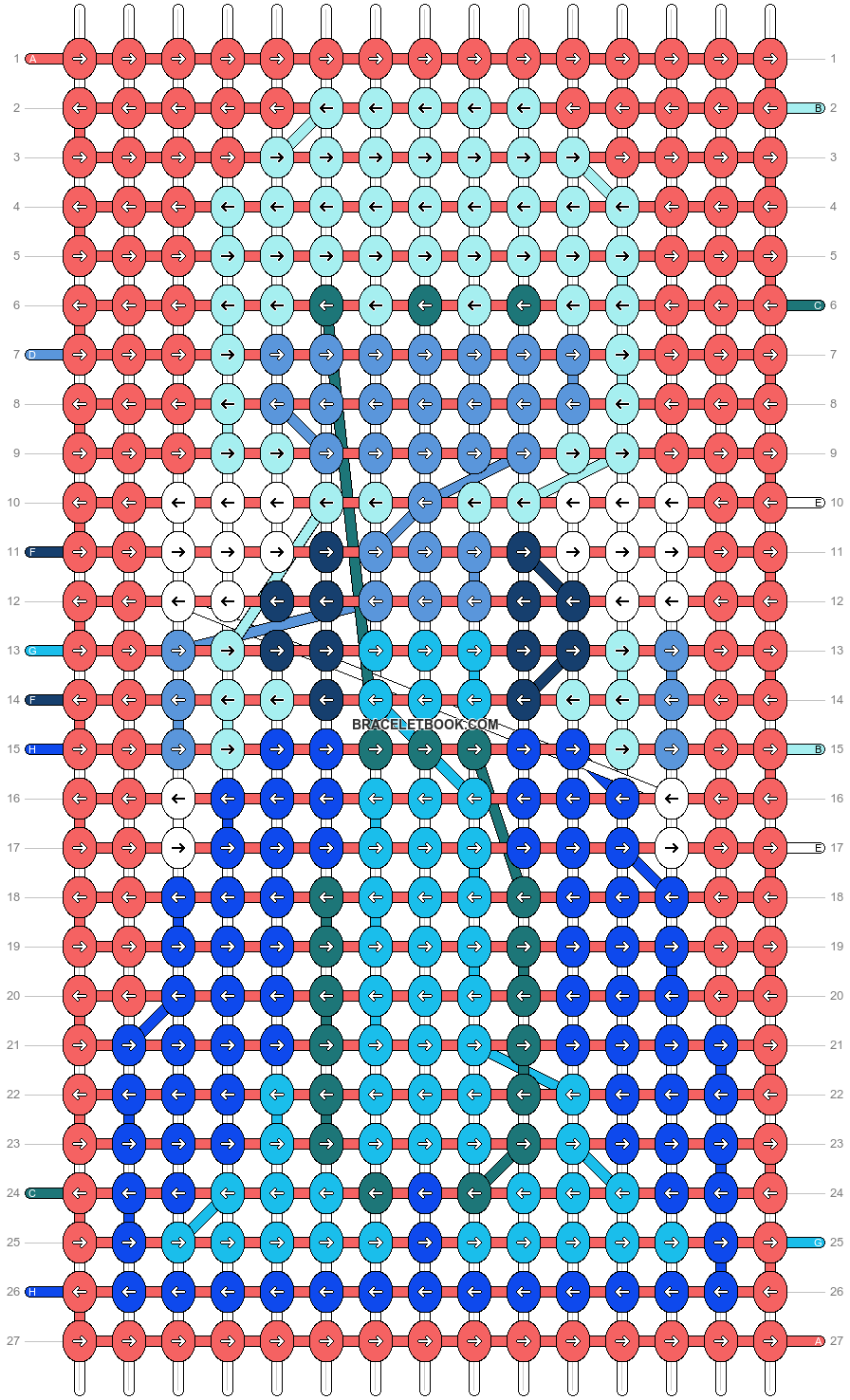 Alpha pattern #19531 pattern