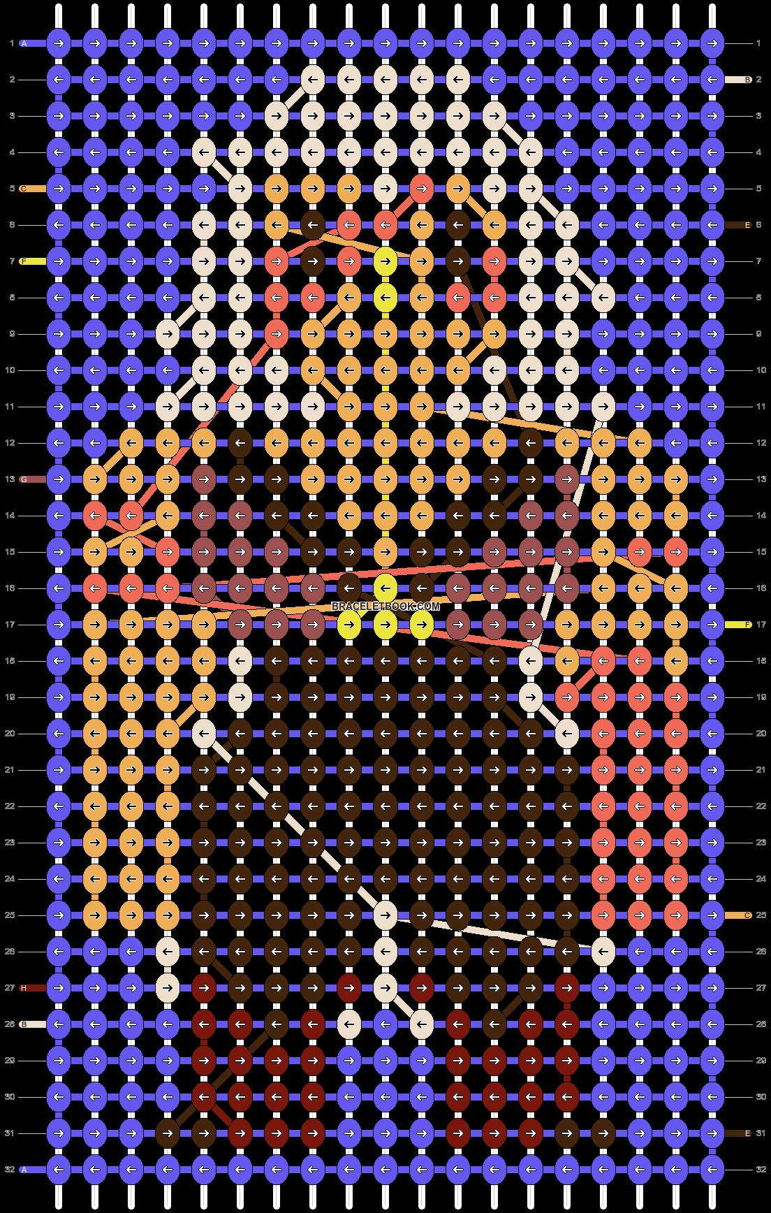 Alpha pattern #19532 pattern