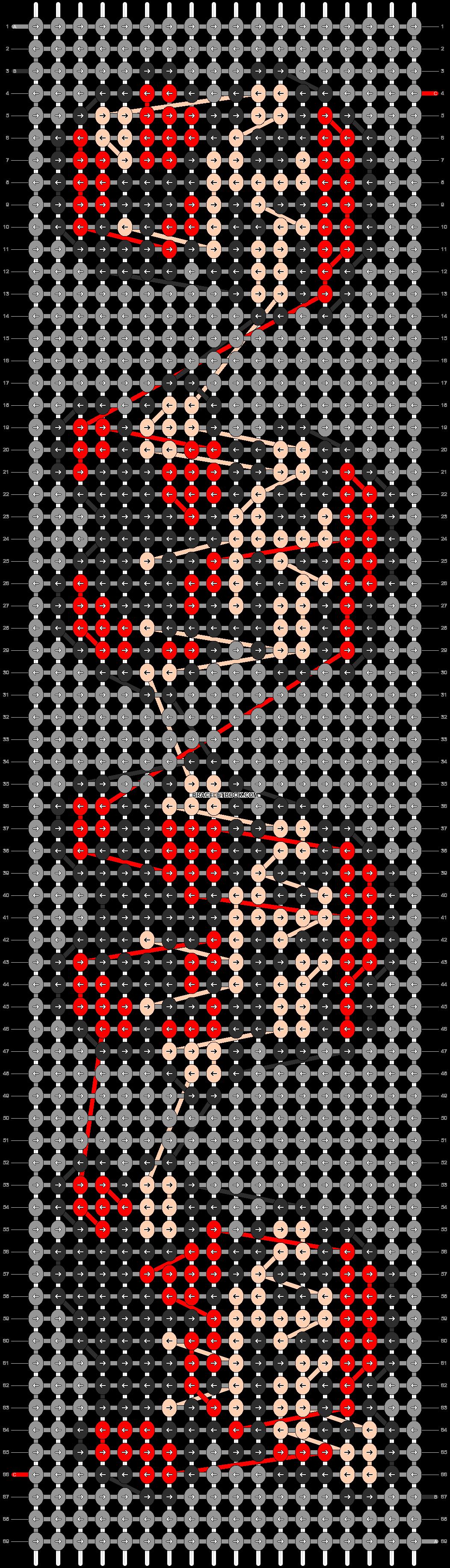 Alpha pattern #19542 pattern