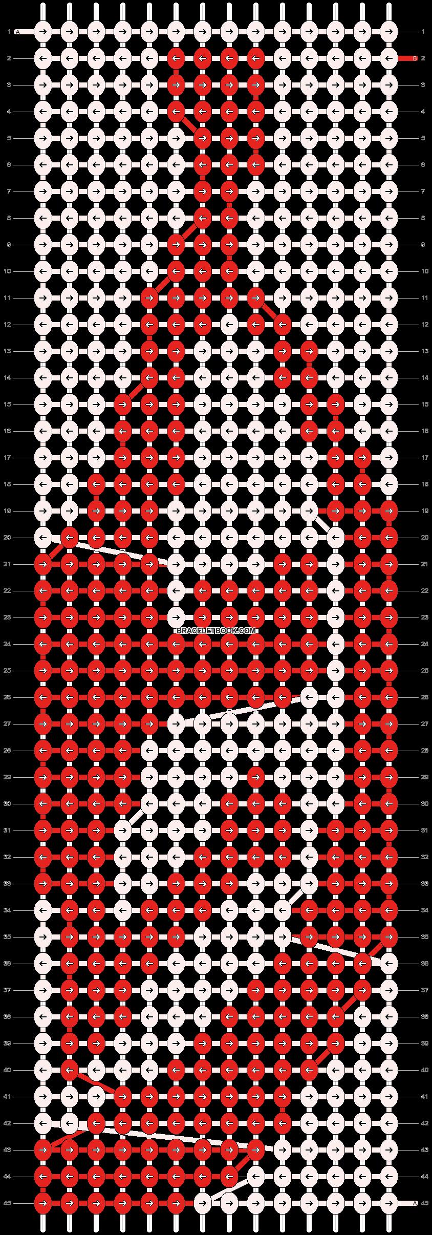 Alpha pattern #19547 pattern