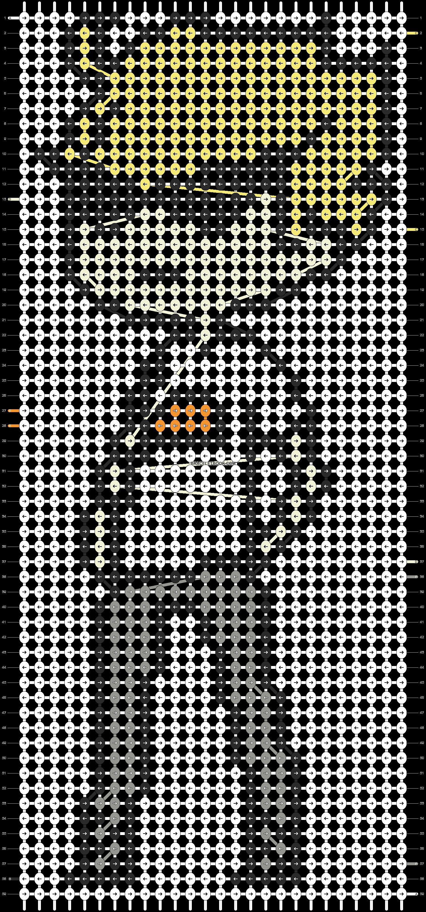Alpha pattern #19556 pattern