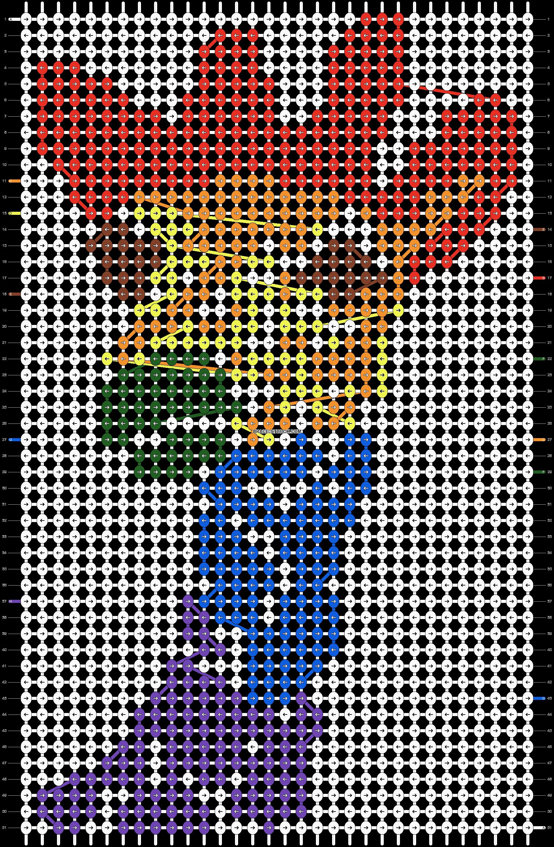 Alpha pattern #19557 pattern