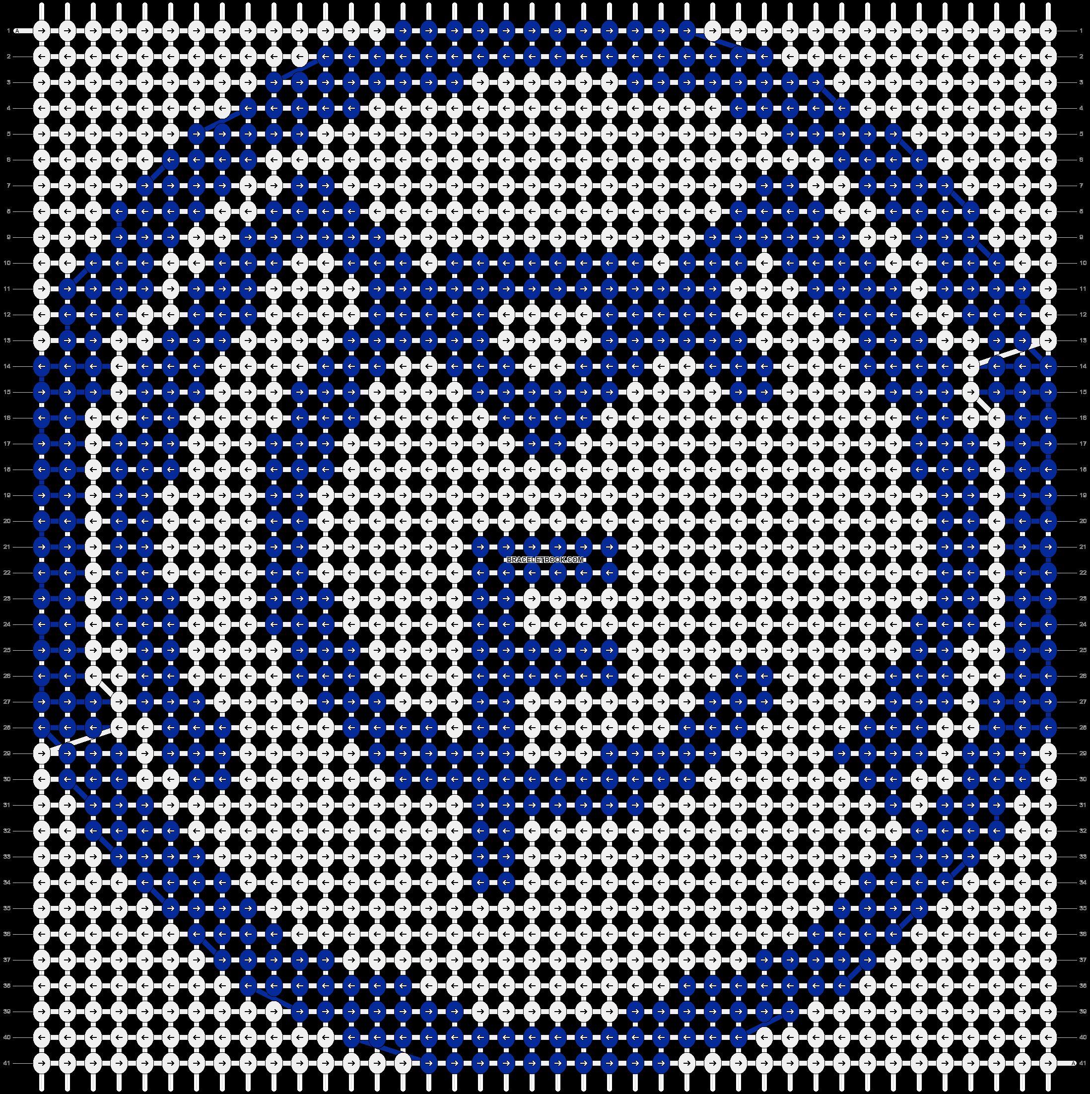 Alpha pattern #19566 pattern