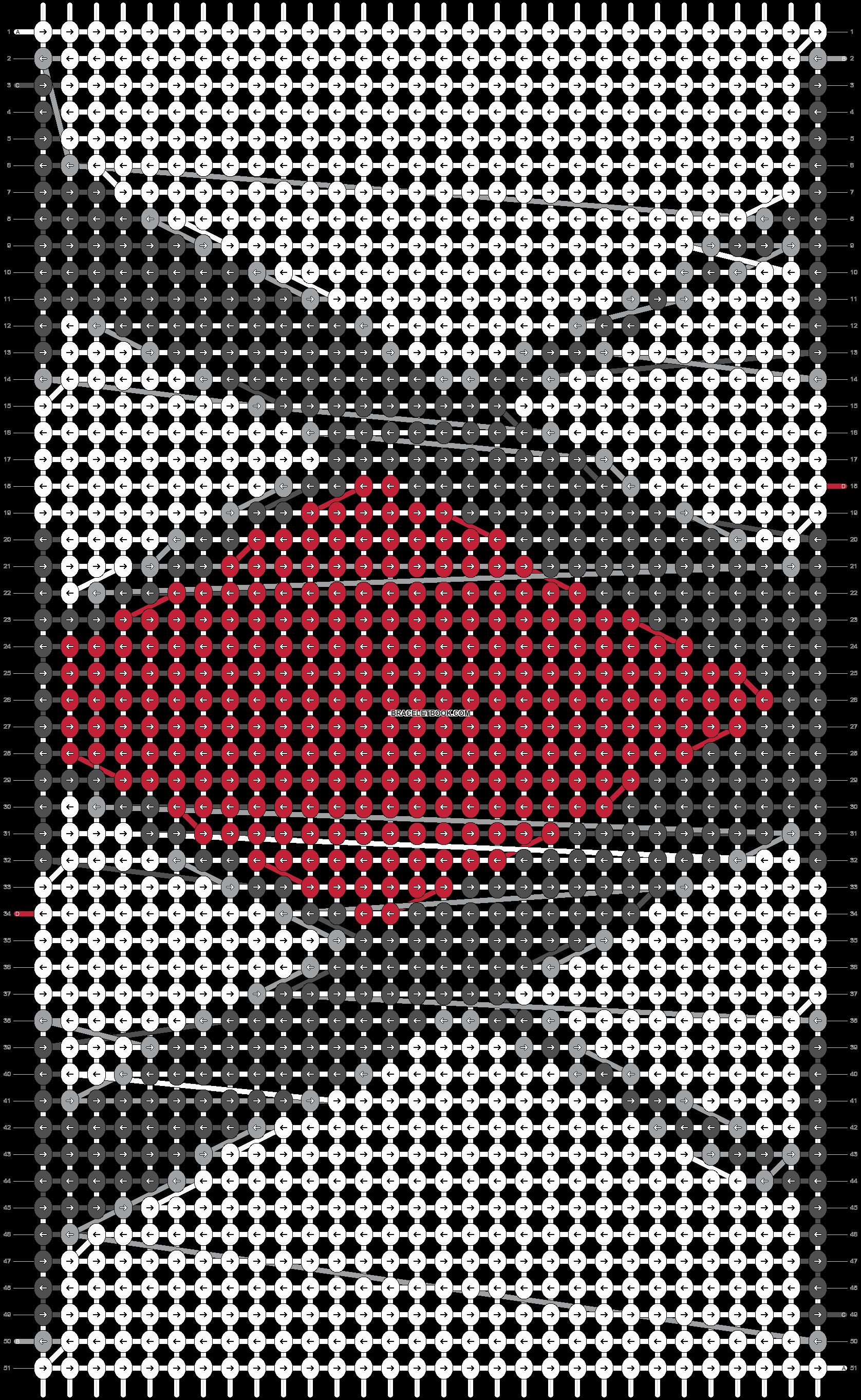 Alpha pattern #19568 pattern