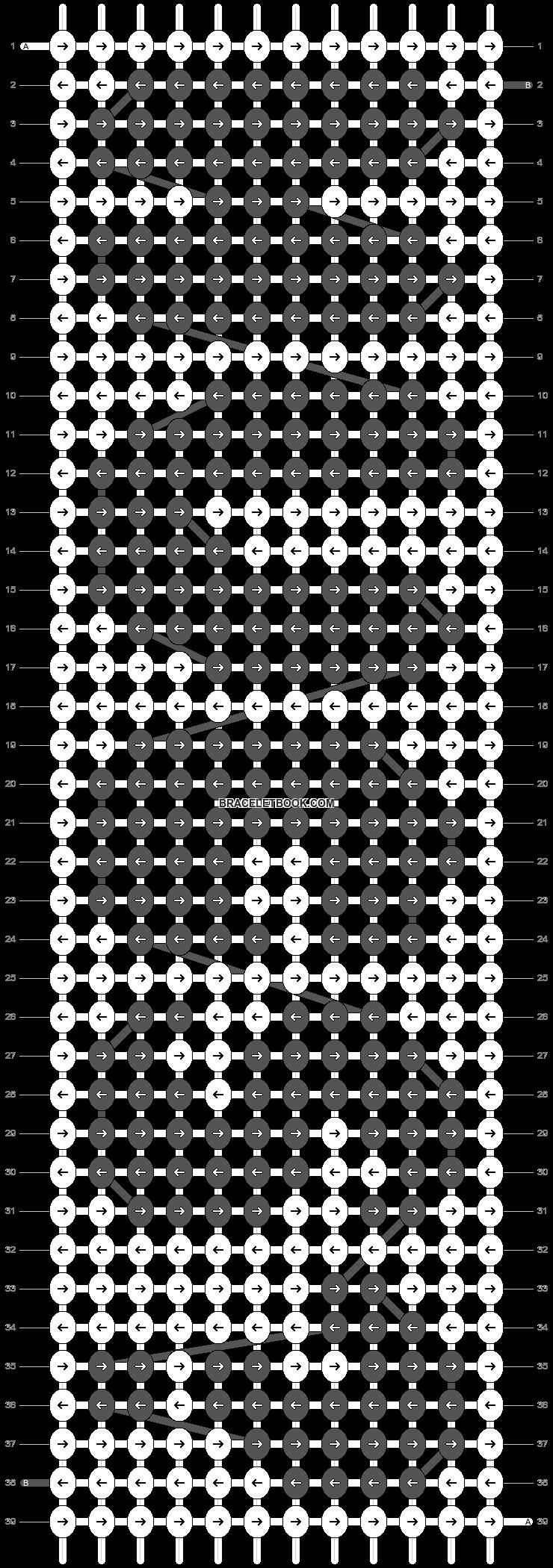 Alpha pattern #19576 pattern