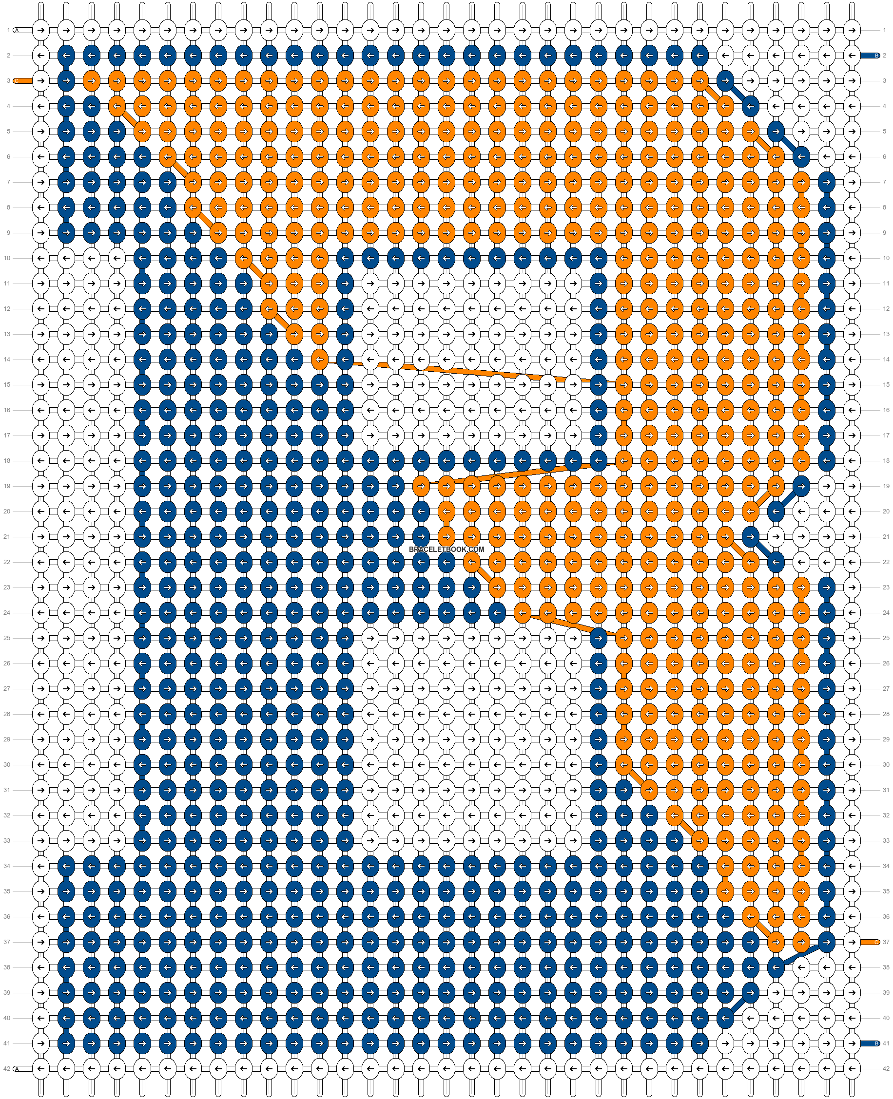Alpha pattern #19582 pattern