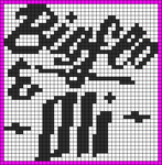 Alpha pattern #19590