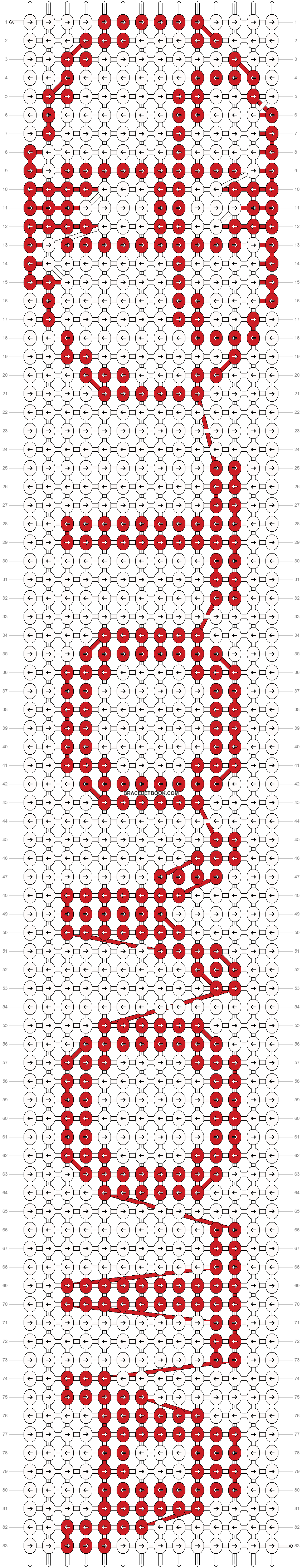 Alpha pattern #19595 pattern