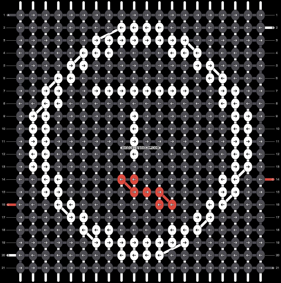 Alpha pattern #19596 pattern