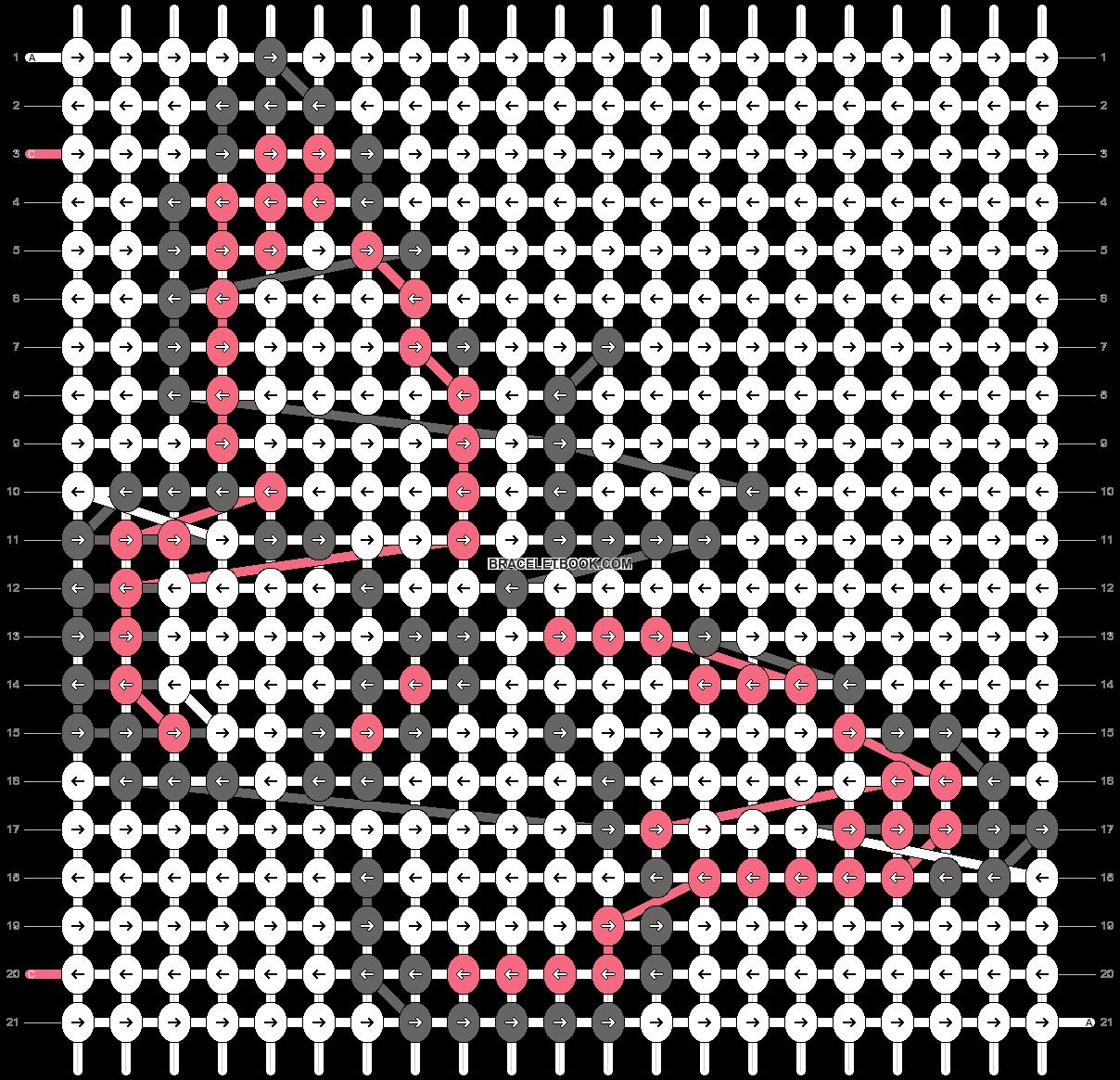 Alpha pattern #19605 pattern