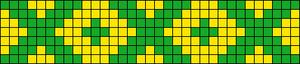 Alpha Friendship Bracelet Pattern #19615
