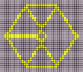 Alpha Friendship Bracelet Pattern #19623