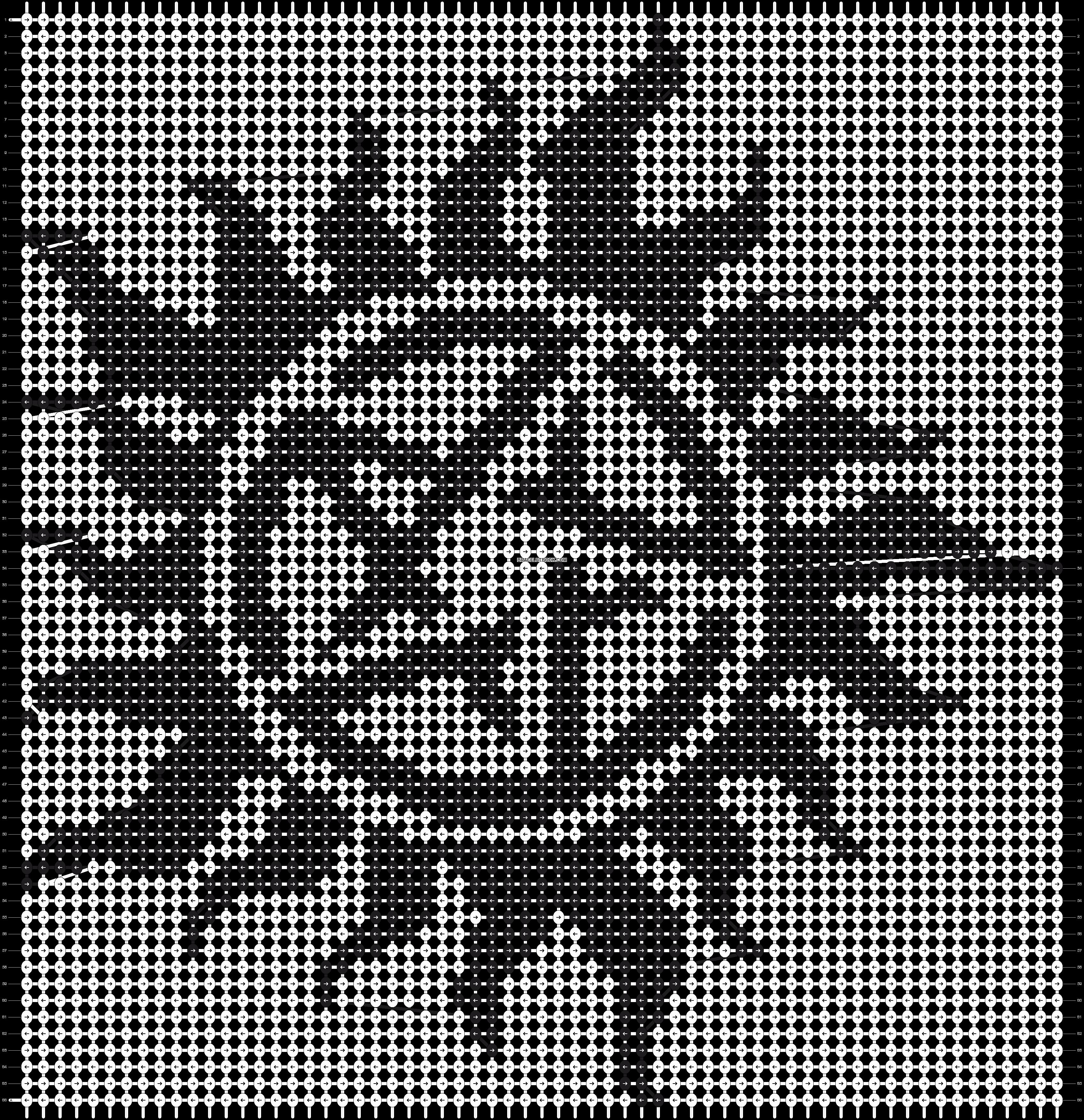 Alpha pattern #19627 pattern