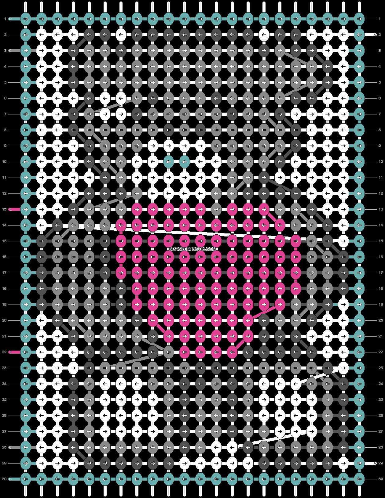 Alpha pattern #19628 pattern