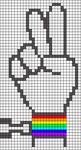 Alpha Friendship Bracelet Pattern #19630