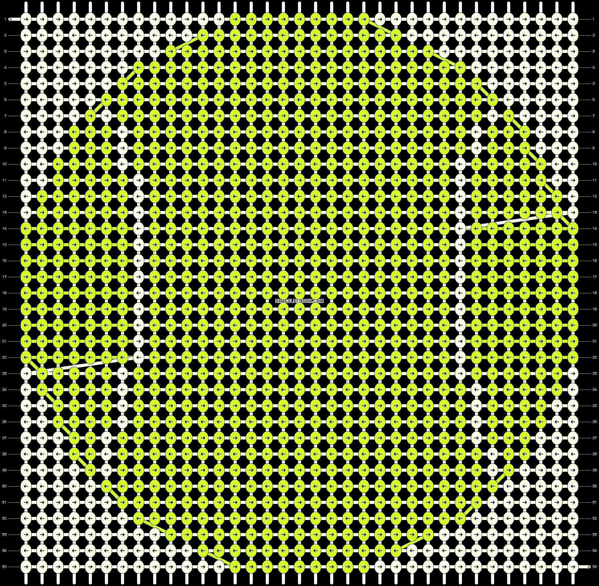 Alpha pattern #19631 pattern