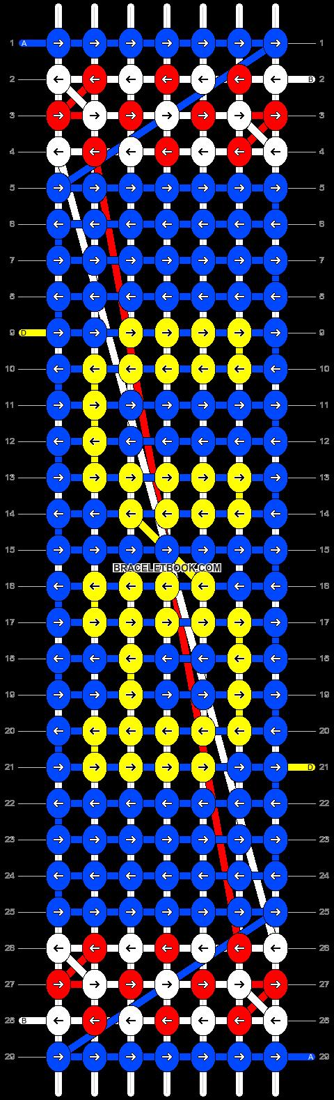 Alpha pattern #19637 pattern