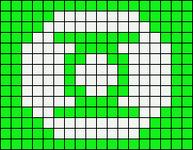 Alpha pattern #19640